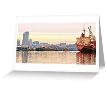 Port of Albany Greeting Card