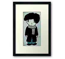 Chibi Sherlock Framed Print