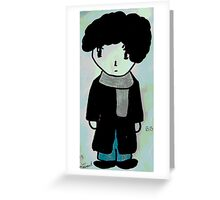 Chibi Sherlock Greeting Card