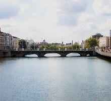Downtown Dublin - Ireland by BritishYank