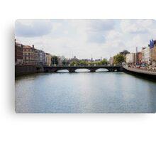 Downtown Dublin - Ireland Canvas Print