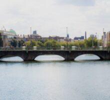 Downtown Dublin - Ireland Sticker