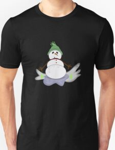 Melty snowman Unisex T-Shirt