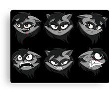 Expressive Raccoon Canvas Print