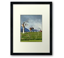 Where Have All The People Gone? Framed Print