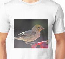 YELLOW HEADED WARBLER ON PERCH Unisex T-Shirt