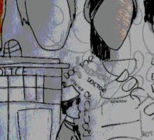 The Doctor's memories  Sticker