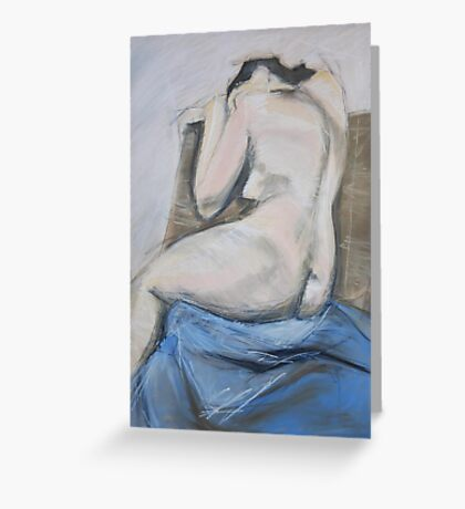 female nude Greeting Card