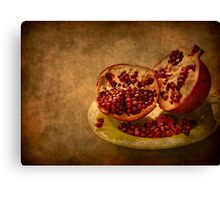 Autumn Treat Canvas Print