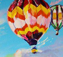 Hot Air Balloon  by Emily Louise Heard