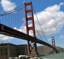 SAN FRANCISCO'S GOLDEN GATE BRIDGE by JAYMILO