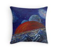Mercury Rising  Throw Pillow
