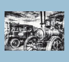 Traction Engine and Steam Lorry Vintage Baby Tee