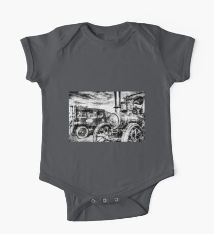 Traction Engine and Steam Lorry Vintage One Piece - Short Sleeve