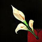 Calla Lilies by eruthart