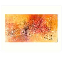 Desert Storm / Abstract #11 Art Print
