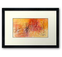 Desert Storm / Abstract #11 Framed Print
