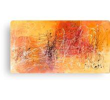 Desert Storm / Abstract #11 Canvas Print