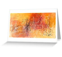 Desert Storm / Abstract #11 Greeting Card
