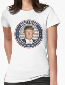 Vote Donald Trump President Womens Fitted T-Shirt