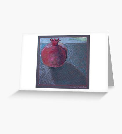 """one pom"" Greeting Card"