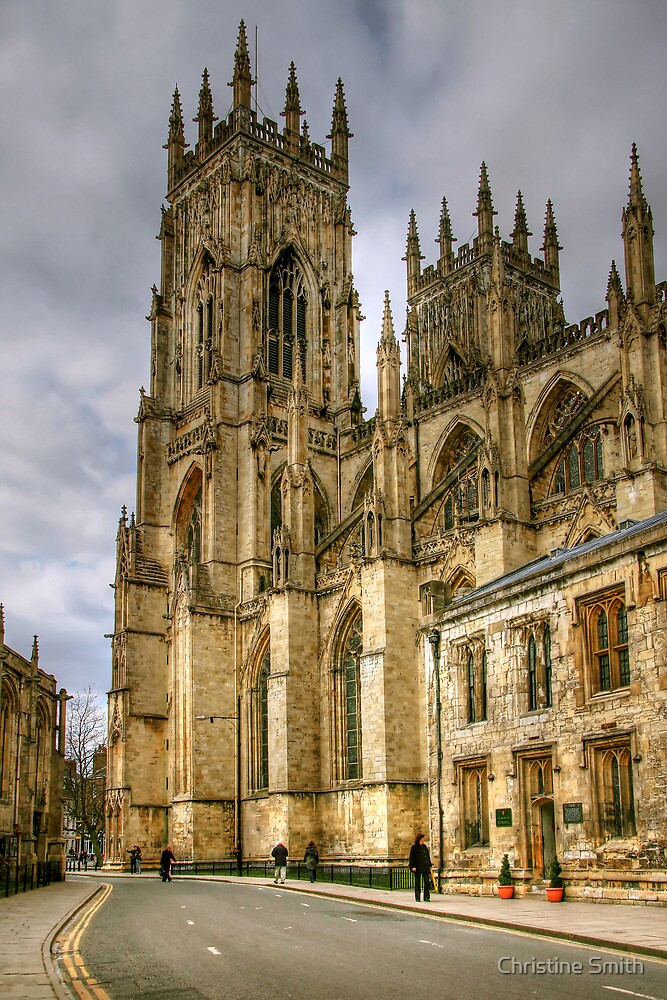 The Two Towers of York Minster by Christine Smith