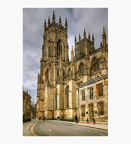 The Two Towers of York Minster Photographic Print