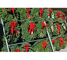 Wreath Market Photographic Print