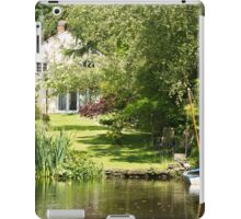Tranquil Country House Retreat iPad Case/Skin