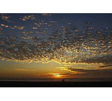 romantic sunset Photographic Print