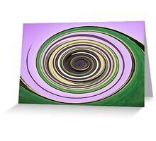 Green & Purple Greeting Card