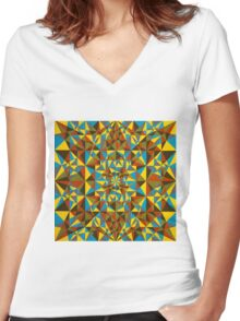 Untitled 251114 Women's Fitted V-Neck T-Shirt