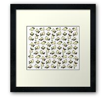 Playful Pugs Framed Print