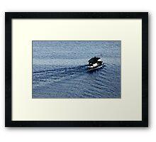 The dream boat Framed Print