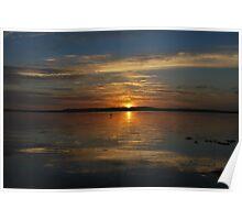 Tuggerah Lake 27-11-10  (sunrise.) Poster