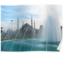 The Blue Mosque, Istanbul Poster