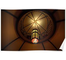 Light of Art Deco  - BMA House c1929-30 - The HDR Experience Poster