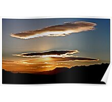 Mojave Sunset Uno Poster
