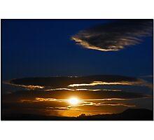 Mojave Sunset Tres Photographic Print