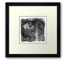 The Atlas of Dreams - Plate 5 (b&w) Framed Print