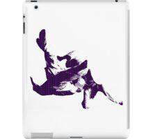 Judo Throw in Gi 3 purple  iPad Case/Skin