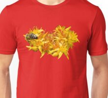 A bee with heart Unisex T-Shirt