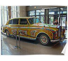 BEATLES Rolls Royce Car : ENGLAND Poster