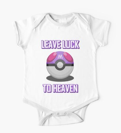 Leave Luck To Heaven One Piece - Short Sleeve