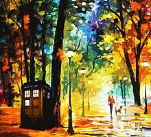 Starry Night Tardis by SmartFriend