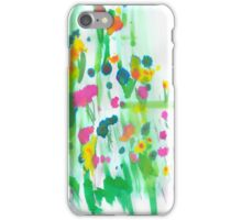 Floral Notes iPhone Case/Skin