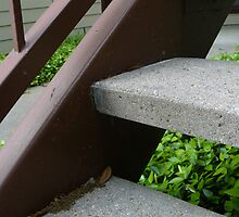 stairs  by Kimberly Darby