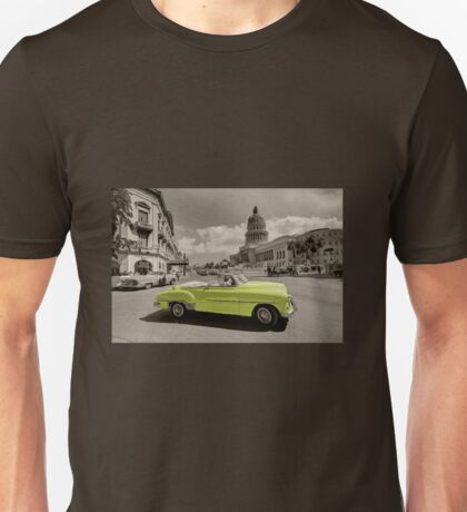 Yellow Convertable  Unisex T-Shirt