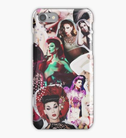Violet Chachki Collage iPhone Case/Skin