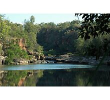 Barnett Gorge - Gibb River Rd Photographic Print